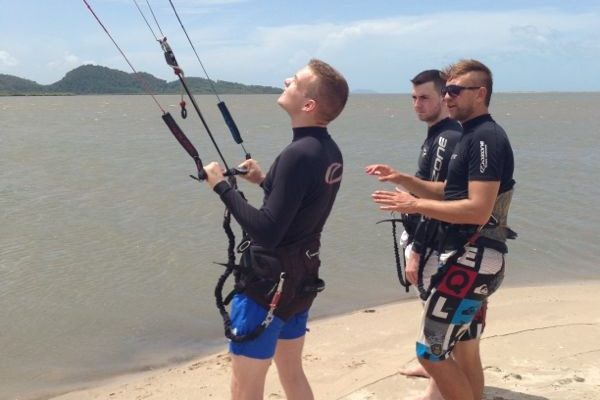Lessons Kiteboarding